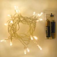 20 LED Sparkly String Light Cable Decoration Battery