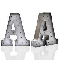Metal Sign Marquee Letter Alphabet Light Indoor Outdoor Decoration Lamp