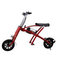 Smart adult child foldable electric bicycle
