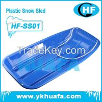 winter outdoor plastic snow sledge adult and children