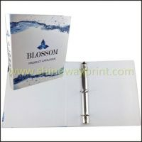 Document Folder with 3-Clip Ring Binder