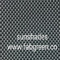 pvc coated polyester sunshade fabrics for window