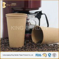 kraft double wall paper cup perfect insulation