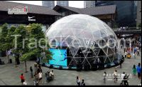 Dome Tent,  Half Sphere, Carpa, Domo Geodesico, Cupula, Esf rica.