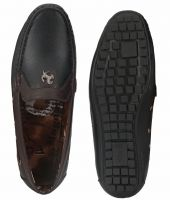 24 Carat Black Loafers