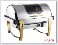 full size roll-top hotel buffet chafing for catering