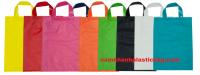 luxury soft loop plastic bag custom printed