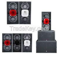 Dual 15 inch Deep Sound PA Speaker pro karaokes fashion speaker box
