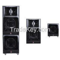 3 way pro loudspeaker  outdoor stages speaker box