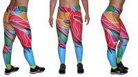 Women's Custom Sublimated Yoga Leggings Sport Yoga Leggings
