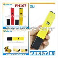 China supplier mini type portable ph meter PH107
