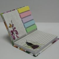 assorted  memo pad with hard cover