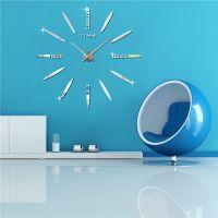 [Fancyard] Fashion Designer Large Wall Clock Home Decor DIY Clock 3D wall clocks (FY1001)