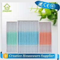 [Fancyard] Plastic Toothpicks/ New Product Portable Toothpicks Plastic Brush In Clear Case Toothpicks (FY2011)