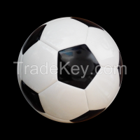 High Quality PU Laminated Soccer Ball/Winding Bladder/Size 5