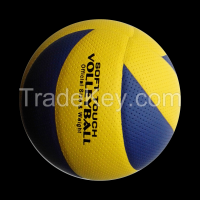 Promotion custom colorful volleyball PU/PVC laminated volleyball