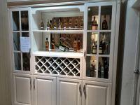Customized European wine cabinet