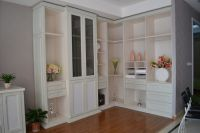 Classical fashion Window bay cabinet/living room furniture cabinet