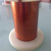 Ultra-fine self-fluxing polyurethane flat enamelled wires