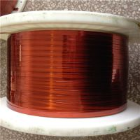 Large polyimide conforms to the polyamide-imide flat enamelled wires