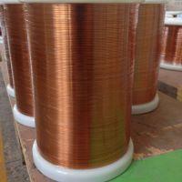 Self-fluxing polyurethane flat enamelled wires