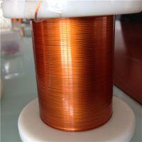 Ultra-fine polyamide-imide flat enamelled wires