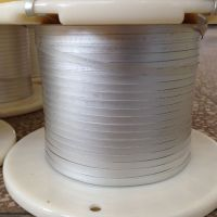 Electroplated nickel-tin flat copper wires