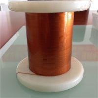 Ultra-fine self-bonding polyurethane flat enamelled wires