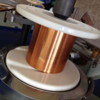 Self-bonding and self-fluxing polyurethane flat enamelled wires