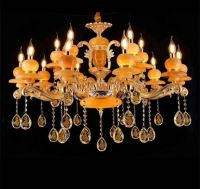 Concise Candle Fancy Crystal Light