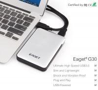 Eaget G30 500G-2TB Ultra Fast USB 3.0 Large Capacity External Portable Hard Drive