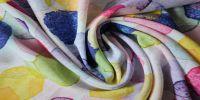 Printed Rayon Plain Fabric