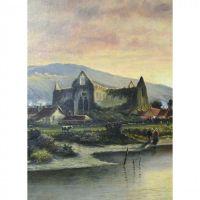 Monumental 19th Century English Oil on Canvas