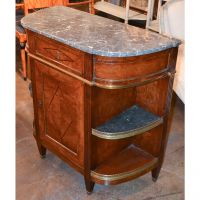 19th Century French Directoire Inlaid Server