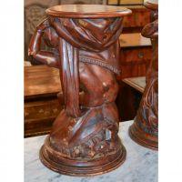 Pair of 19th Century Italian Blackamoor Pedestals