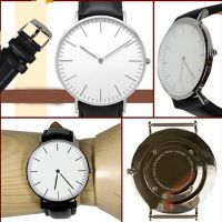 Hot selling elegant apperance dw style stainless steel watch