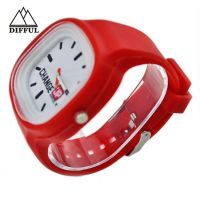 Hot selling promotion Silicone watch with different colors