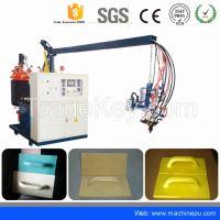 Low Pressure polyurethane pu plastering float making machine