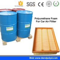 PU car fliter air with polyol resilience polyurethane filter material