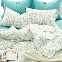 1.5m cotton bed sheet and quilt cover
