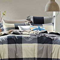 Cotton printing bed sheet and quilt cover (1.8m)