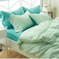 1.8m  cotton bed sheet and quilt cover
