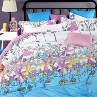 Home textile silk ecology cotton 4-piece set (2.0m)