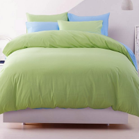Cotton binary pure color bedding  4-piece set(1.8 m)