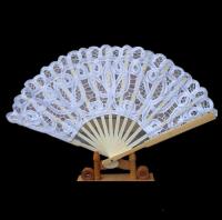 Lavishing Western Style Lace Wedding Fan