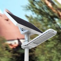 Efficient Solar Street Light (Banana Shape)