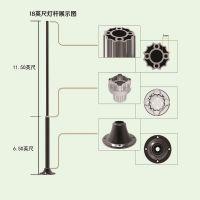 High Quality Aluminum Street Light Pole