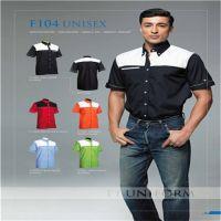 Customized 195g TC Fabric Polo Shirt
