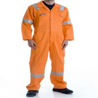 100% Cotton 240g Fireproof Long Sleeve Coveralls