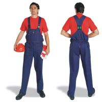 Polyester Cotton Suspender Trousers